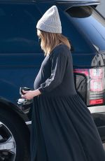 Pregnant ASHLEY TISDALE Out and About in West Hollywood 02/10/2021