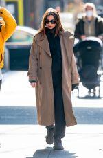 Pregnant EMILY RATAJKOWSKI Out in New York 02/16/2021
