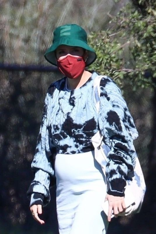 Pregnant HALSEY at a Picnic in Los Angeles 01/31/2021