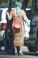 Pregnant HILARY DUFF Out and About in Los Angeles 02/27/2021