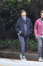 Pregnant MANDY MOORE and Taylor Goldsmith Out on Valentine