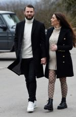 Pregnant NERMINA PIETERS Out in Alderley Edge 02/24/2021