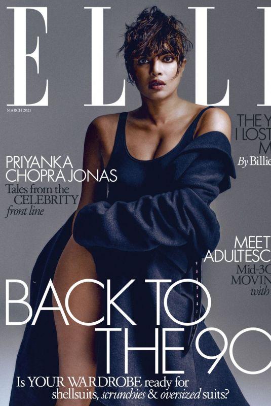 PRIYANKA CHOPRA for Elle Magazine, UK March 2021