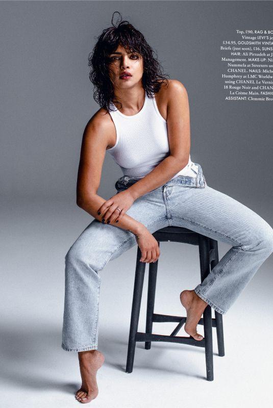 PRIYANKA CHOPRA in Elle Magazine, March 2021
