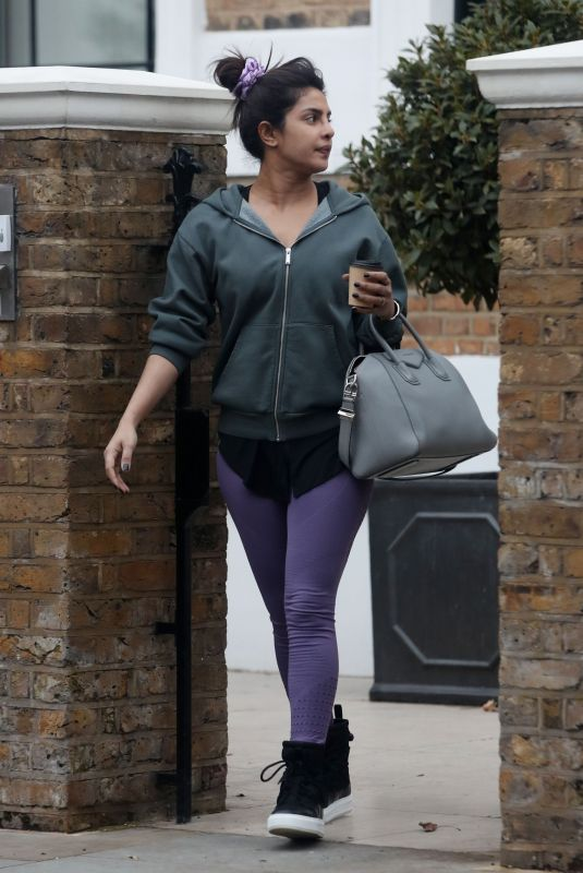 PRIYANKA CHOPRA Out and About in London 02/19/2021