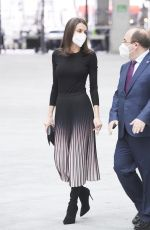 QUEEN LETIZIA OF SPAIN at APM Journalism Awards 2019 and 2020 in Madrid 02/09/2021