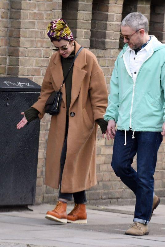 RACHEL MARIAM Out in London 02/23/2021