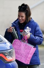 REBEKAH VARDY at Dancing on Ice Training Session in Nottingham 02/17/2021