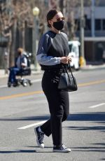 ROONEY MARA in Black Jeans Out in Studio City 02/22/2021