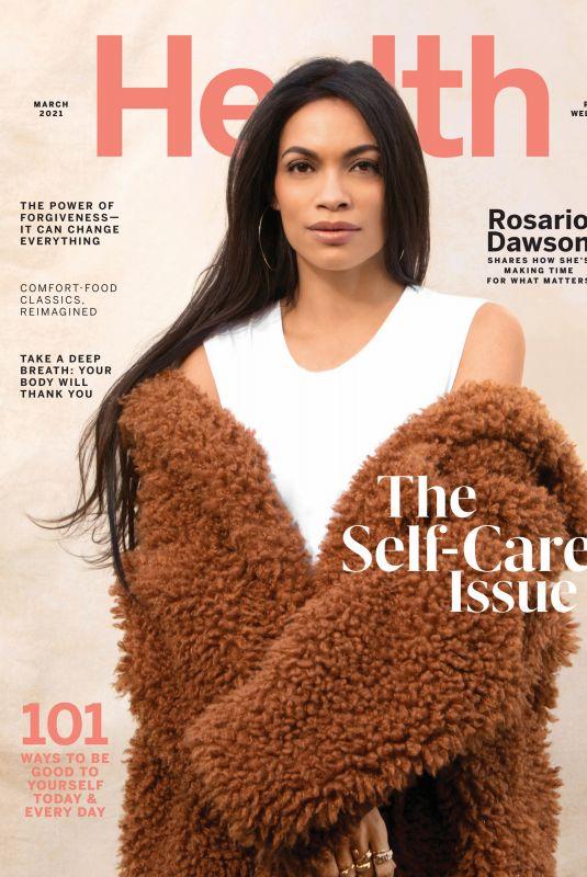 ROSARIO DAWSON in Health Magazine, March 2021