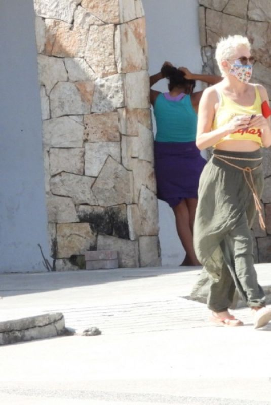 ROSE MCGOWAN Out in Tulum 02/08/2021