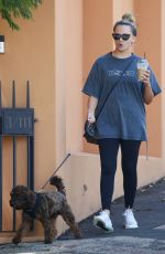 SAMANTHA JADE Out with Her Dog in Sydney 02/06/2021