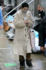 SELENA GOMEZ on the Set of Only Murders in the Building in New York 02/09/2021