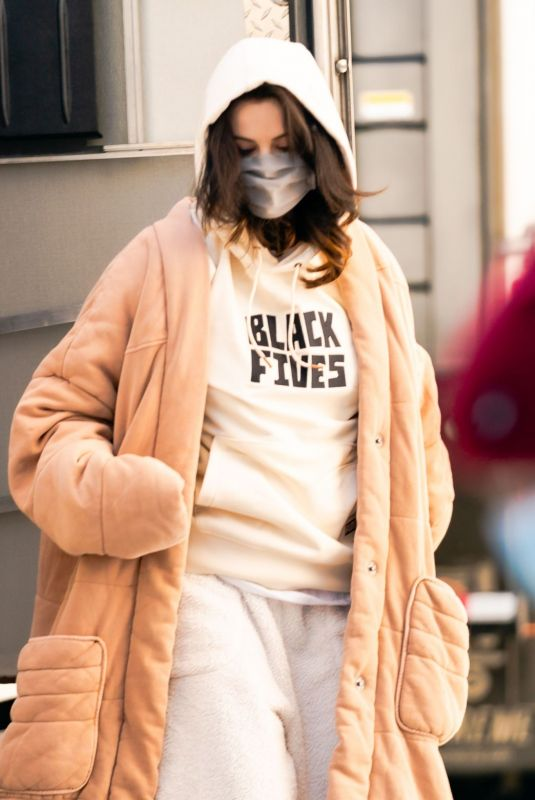 SELENA GOMEZ Out in New York 02/20/2021