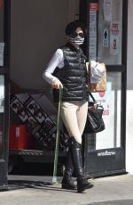 SELMA BLAIR Out Shopping at CVS in Studio City 02/14/2021