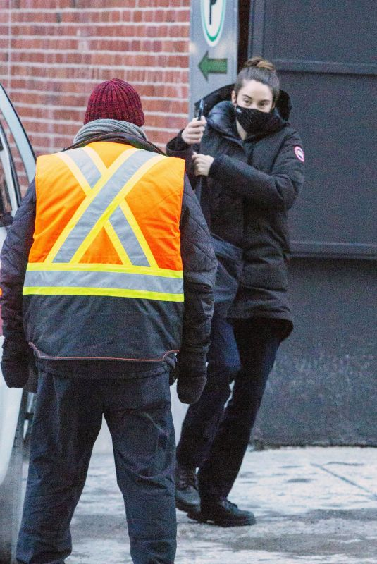 SHAILENE WOODLEY Out in Montreal 02/11/2021