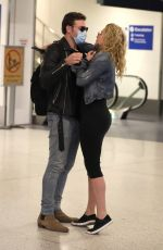 SHANNA MOAKLER and Matthew Rondeau at LAX Airport 02/18/2021