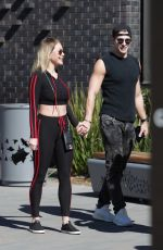 SHANNA MOAKLER Out with Her Boyfriend in Los Angeles 02/19/2021