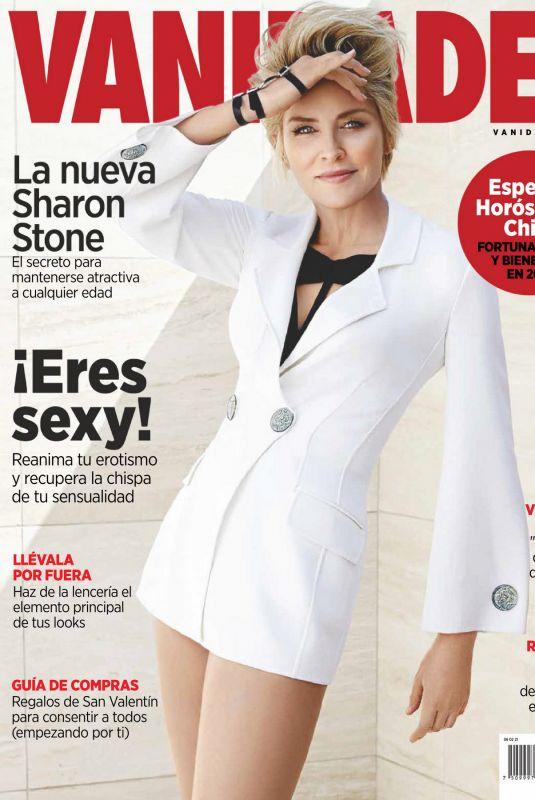 SHARON STONE in Vanidades Magazine, Mexico February 2021