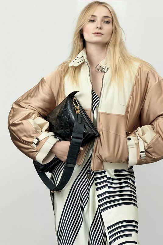 SOPHIE TURNER for Louis Vuitton, Spring/Summer 2021