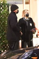 STELLA MAXWELL at Mr. Chow in Beverly Hills 02/11/2021