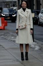 SUTTON FOSTER on the Set of Younger in New York 02/23/2021