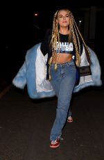 TALLIA STORM at Celebrity Eating with My Ex in London 02/12/2021