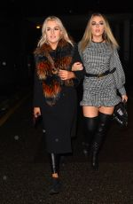 TALLIA STORM Night Out with Her Sister TESSIE HARTMAN in London 02/05/2021