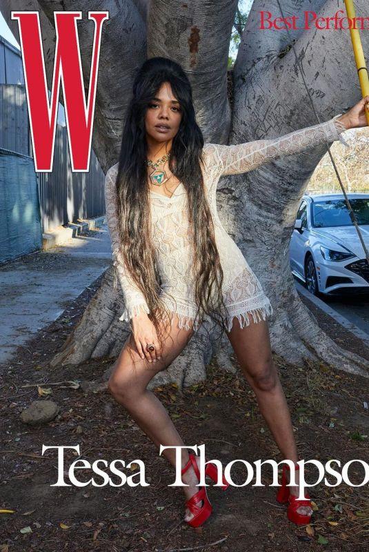 TESSA THOMPSON for W Magazine, Best Performances Issue, 2021