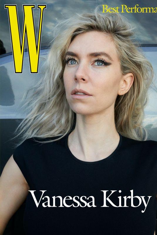VANESSA KIRBY for W Magazine, Best Performances Issue, 2021