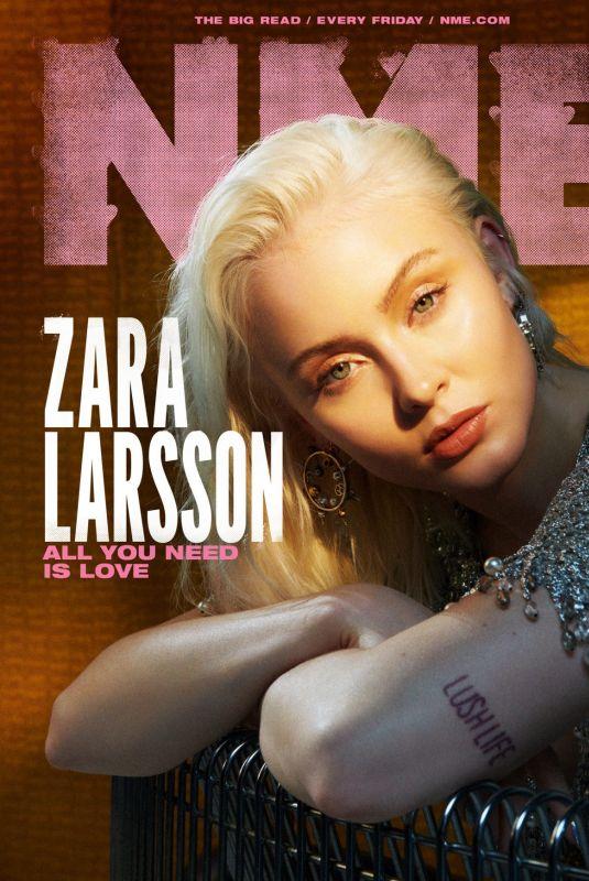 ZARA LARSSON for NME Magazine, February 2021