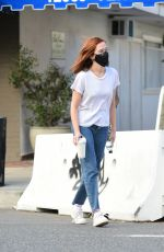 ZOEY DEUTCH Out for Coffee in Los Angeles 02/11/2021