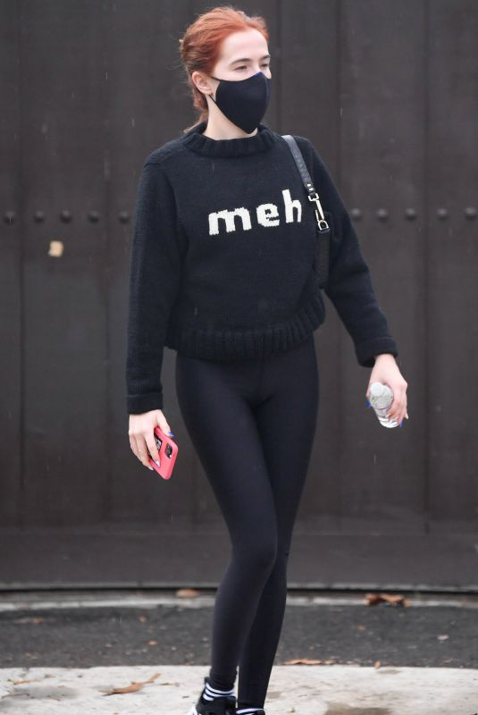 ZOEY DEUTCH Out for Morning Workout in Los Angeles 02/03/2021
