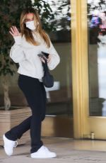 ADDISON RAE Leaves Sunset Towers in West Hollywood 03/25/2021