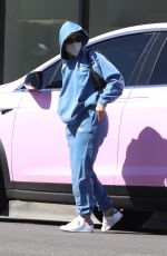 ADDISON RAE Out for Lunch in Los Angeles 03/02/2021