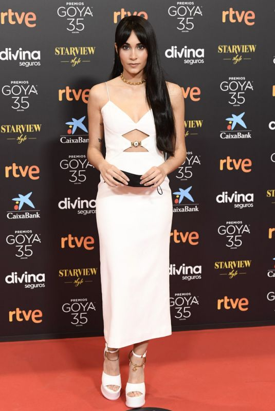 AITANA at Goya Cinema Awards 2021 in Malaga 03/06/2021