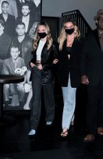ALEXIS REN and MADDIE ZIEGLER at Catch LA in West Hollywood 03/18/2021