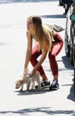 ALEXIS REN Arrives at Workout Session in Los Angeles 03/27/2021