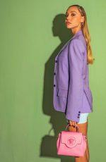 ALEXIS REN for Versace, March 2021