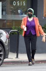 ALIA SHAWKAT Out for Coffee in Los Angeles 03/25/2021