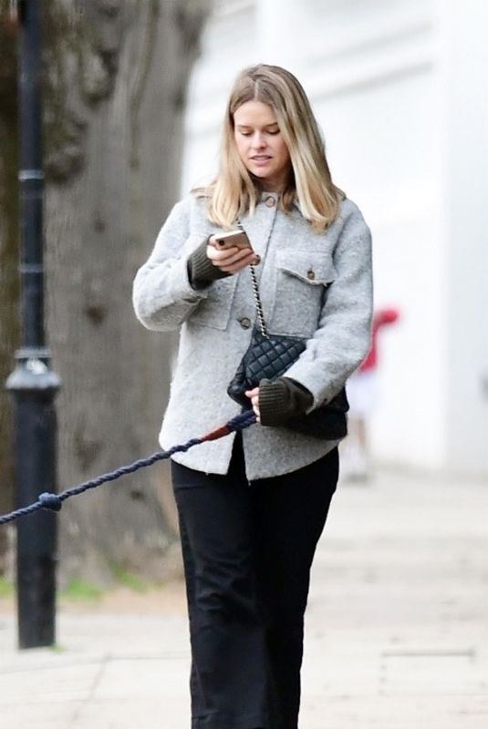 ALICE EVE Out at Notting Hill Park in London 03/18/2021