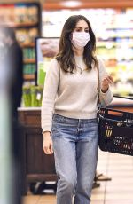 ALISON BRIE Shopping at Gelson