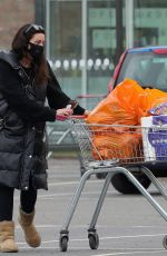ALISON KING Out Shopping for Groceries in Wilmslow 03/22/2021
