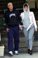 AMBER ROSE and Alexander Edwards Out in West Hollywood 03/17/2021