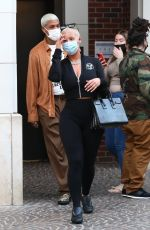 AMBER ROSE Shopping at Peter Marco Luxury Jewelry in Beverly Hills 03/04/2021