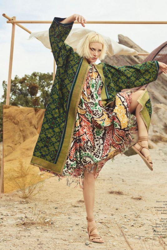 AMBER VALLETTA in Vogue Magazine, UK April 2021