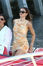 AMELIA HAMLIN and Scott Disick at a Boat in Miami Bay 03/01/2021