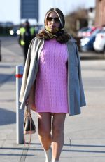 AMY CHILDS on the Set of The Only Way is Essex 03/09/2021