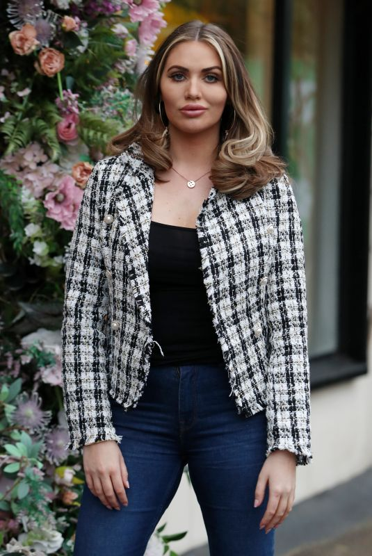 AMY CHILDS on the Set of The Only Way is Essex 03/21/2021