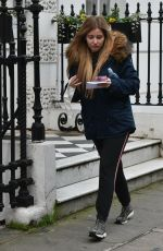AMY HART Leaves a Family Planning Clinic in London 03/18/2021